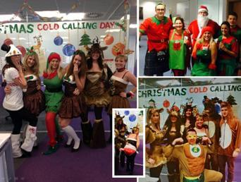 Wilmslow staff show festive charity
